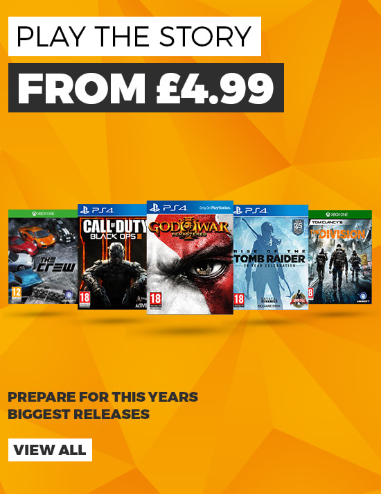 Play the Story - Prepare for this year's biggest releases - Buy Now at GAME.co.uk