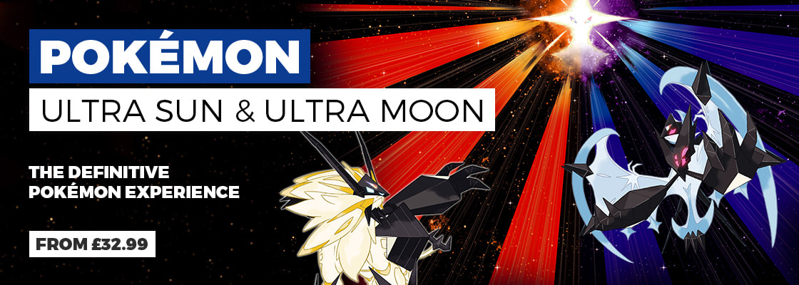 Pokemon Ultra Sun and Ultra Moon on Nintendo 3DS