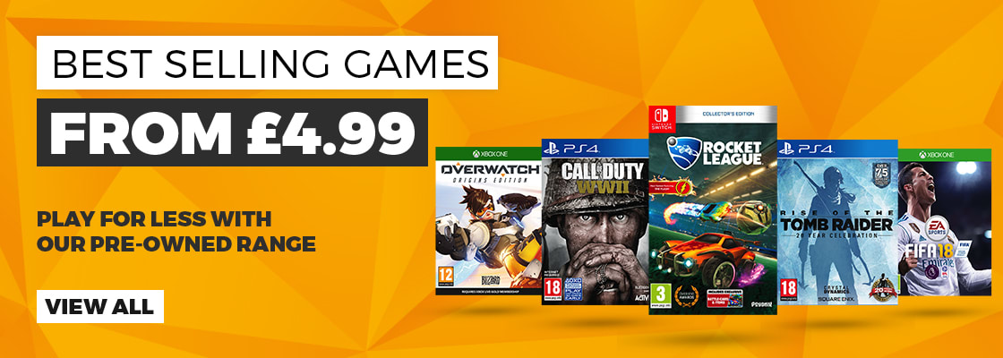 pre owned best sellers GAME.co.uk