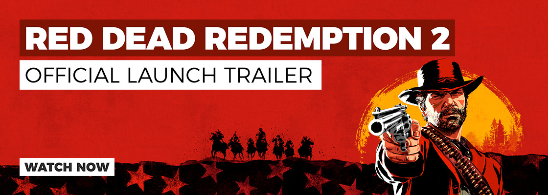 RDR2 Launch Trailer