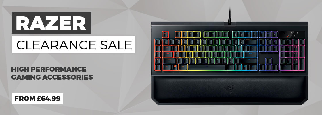 Razer Accessory Clearance Offers - View All
