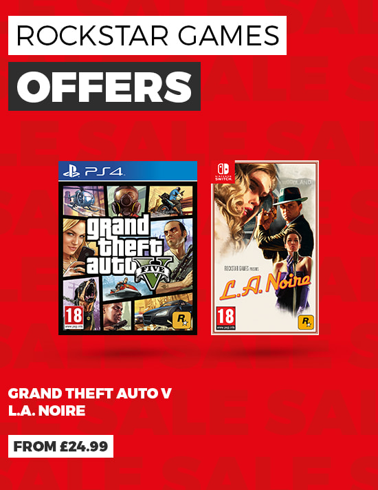 Rockstar Games Offers from £24.99 - Buy Now at GAME.co.uk