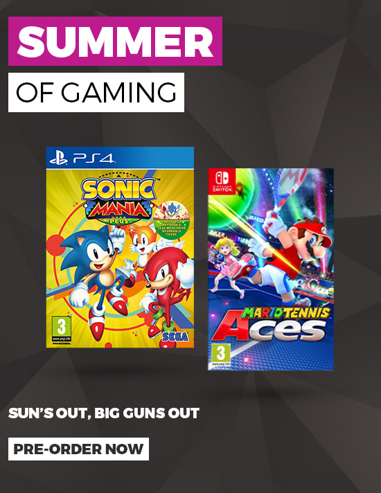 Games Out this Summer - Pre-order Now