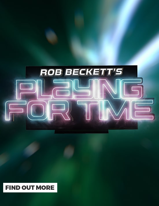 Rob Beckett's Playing for Time - Find Out More at GAME.co.uk