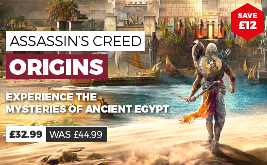 Assassin Creed Origins Offer at GAME.co.uk