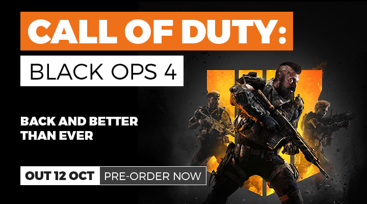 Call of Duty Black Ops 4 - Pre-order Now at GAME.co.uk