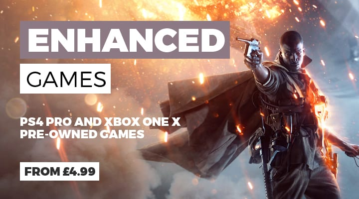 Pre-owned Enhanced Xbox One X and PlayStation 4 Games at GAME.co.uk