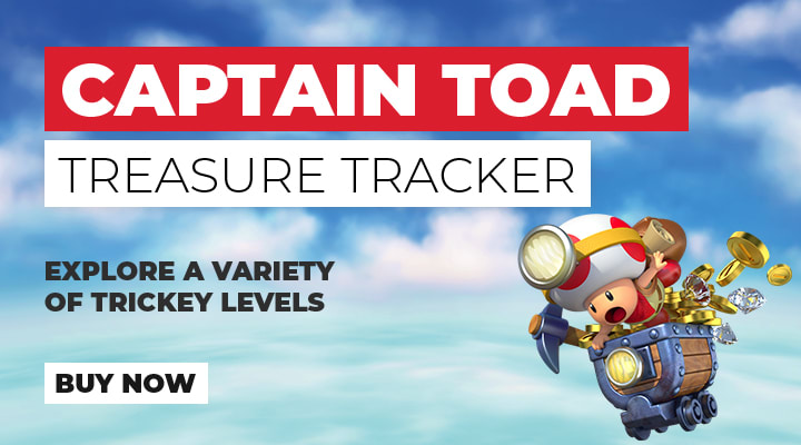 Captain Toad Treasure Tracker on Nintendo 3DS/2DSXL