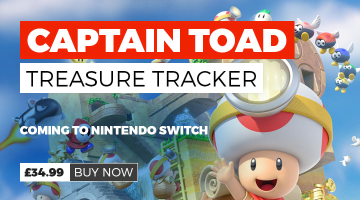 Captain Toad Treasure Tracker on Nintendo Switch