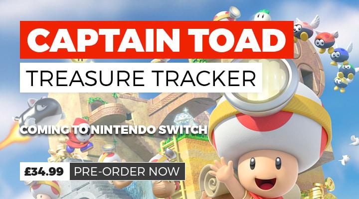 Captain Toad Treasure Tracker on Nintendo Switch