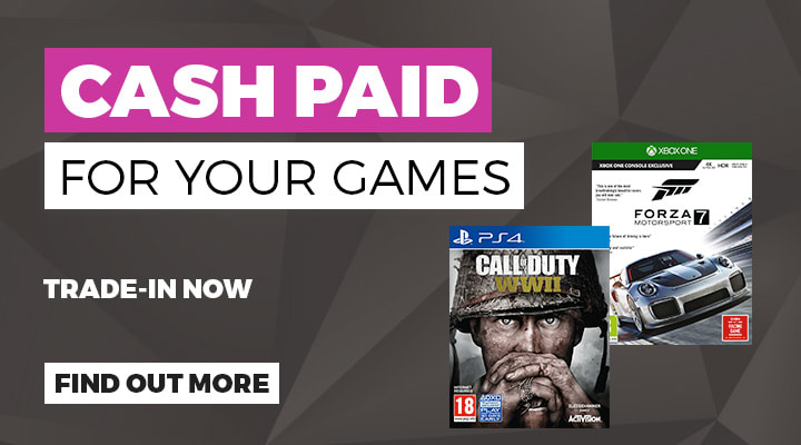 Cash paid for your games at GAME.co.uk