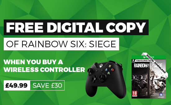 Xbox Controller with Rainbow Six Siege - Buy Now at GAME.co.uk - Homepage Banner