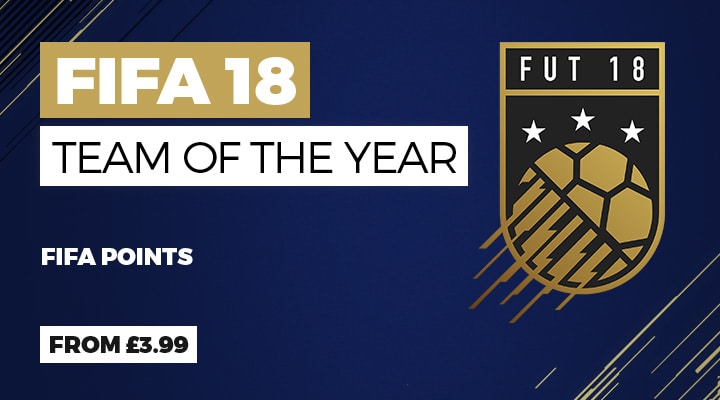 Fifa Ultimate Team Team of the Year at GAME.co.uk
