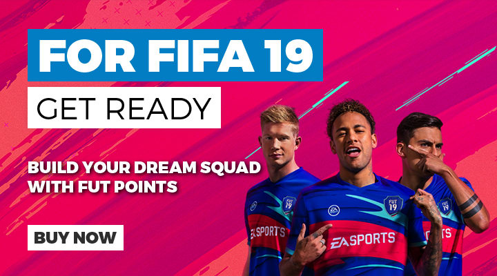 Get Ready for FIFA 19 - Build Your Dream Team with FUT points - Buy Now