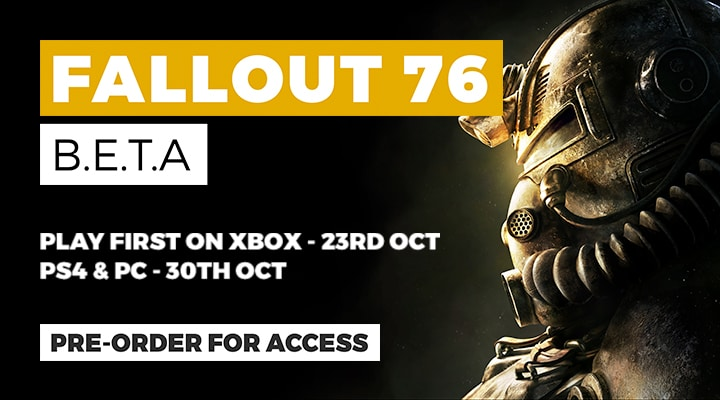 Fallout 76 - Pre-order to Access the BETA