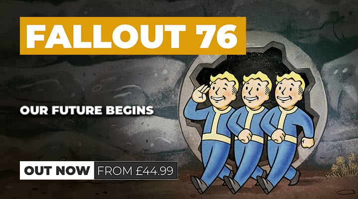 Fallout 76 Out Now on Xbox One