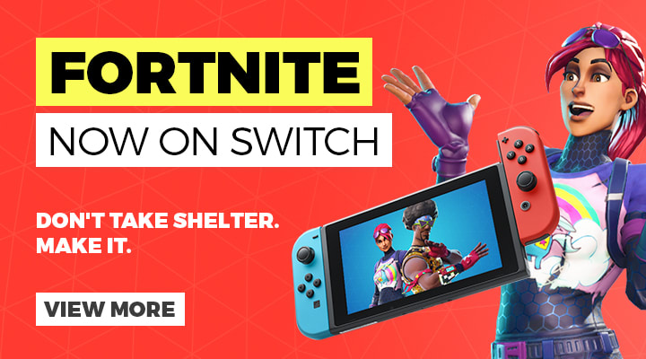 Fortnite on Nintendo Switch