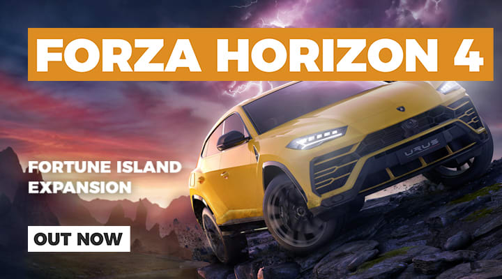 Forza Horizon 4 Fortune Island Out Now on Xbox One