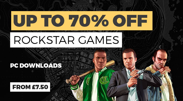 Rockstar PC Download Deals - Download now at GAME.co.uk