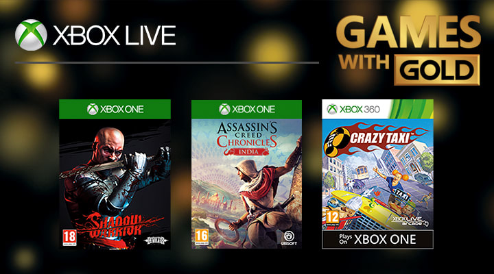 Games With Gold on XBox at GAME.co.uk