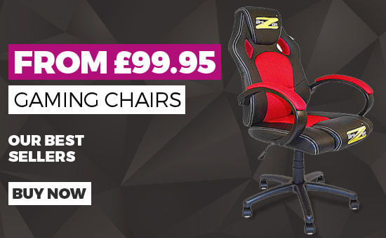 Our Best Selling Gaming Chairs - Buy Now at GAME.co.uk - Homepage Banner