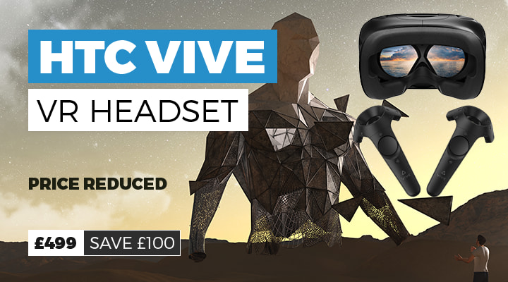 HTC Vive Only £499 - Save £100 - Buy Now at GAME.co.uk