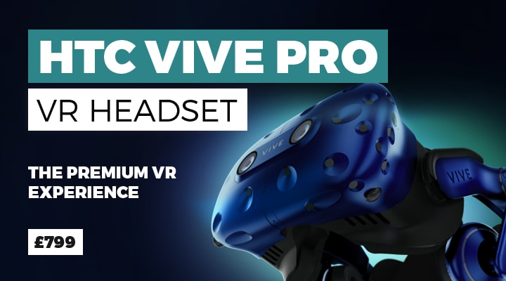HTC VIVE Pro VR Headset - Buy Now at GAME.co.uk