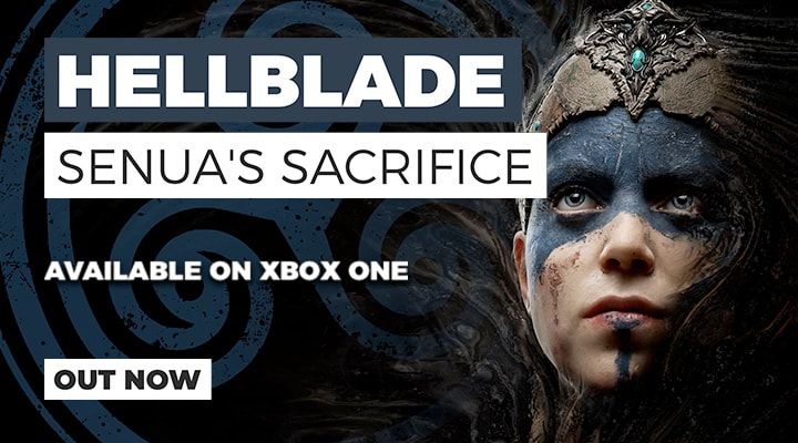 Hellblade Senua's Sacrifice Out Now on Xbox One