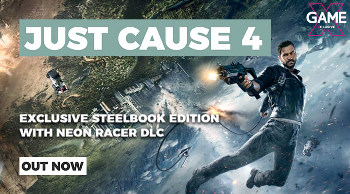 Just Cause 4 - Out Now on PS4