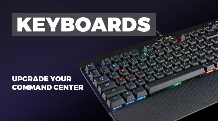 Keyboards for PC Gaming - View Full Range
