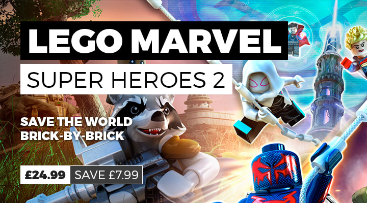 LEGO Marvel Super heroes 2 for 24.99