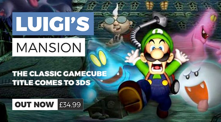 Luigi's Mansion Out Now on Nintendo 3DS
