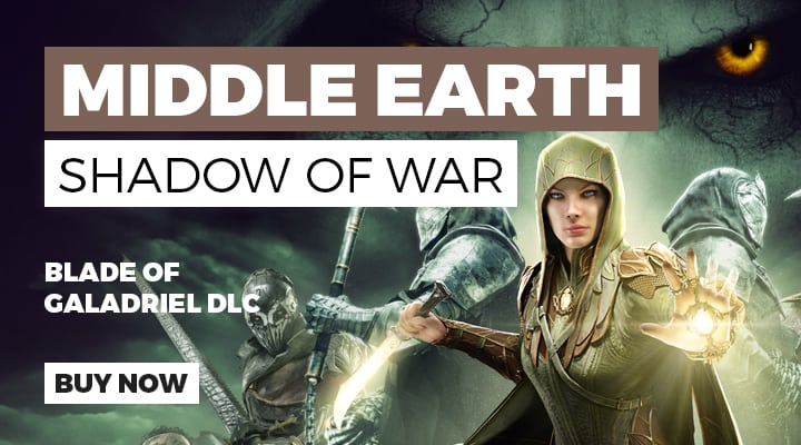 Middle Earth Shadow of War Blade of Galadriel DLC