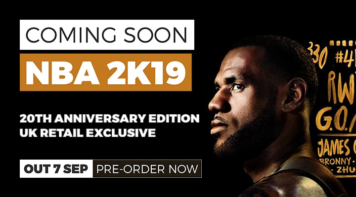 NBA 2K19 Coming Soon