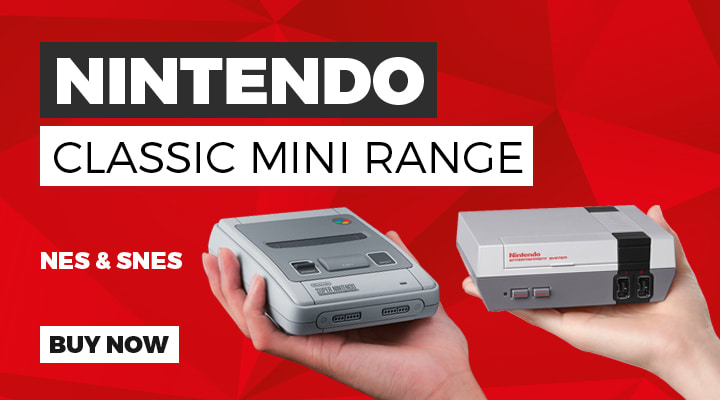 Nintendo Classic Mini Range - Buy Now