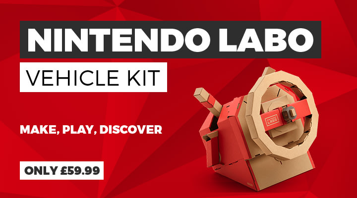 Nintendo LABO Vehicle Kit on Nintendo Switch