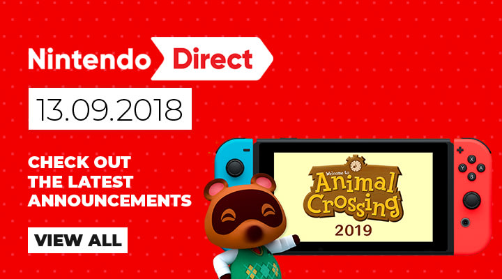 Nintendo Direct - latest announces