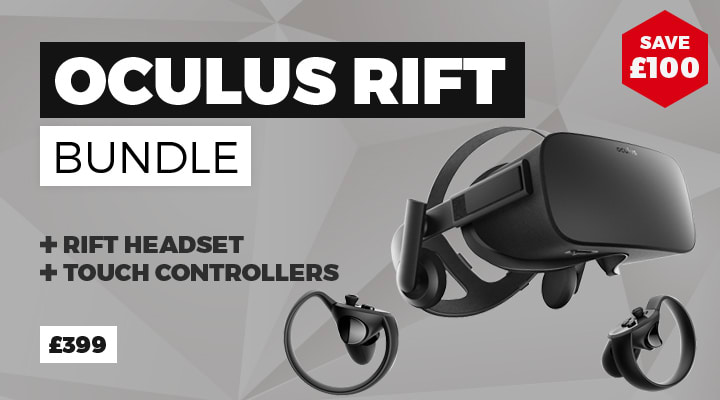 Oculus Rift now £399 - Buy Now at GAME.co.uk