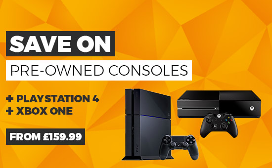 Preowned Consoles - Homepage Banner