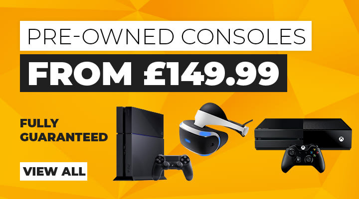 Pre-owned Consoles at GAME.co.uk
