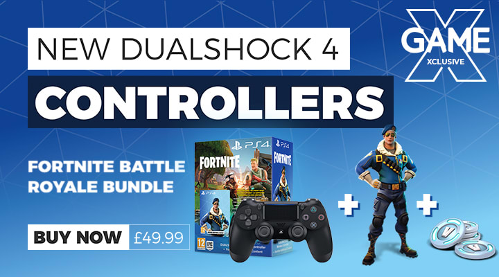 PS4 New Dualshock Controllers