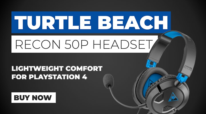 Turtle BeachRecon 50P Headset