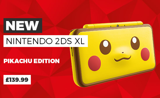 New Nintendo 2DS XL Pikachu Edition - £139.99 - Buy Now at GAME.co.uk