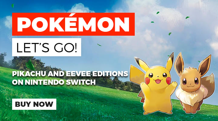 Pokémon Let's Go! Pikachu and Pokémon Let's Go! Eevee on the Switch