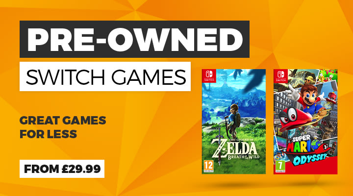 Pre-owned Nintendo Switch Games at Game.co.uk