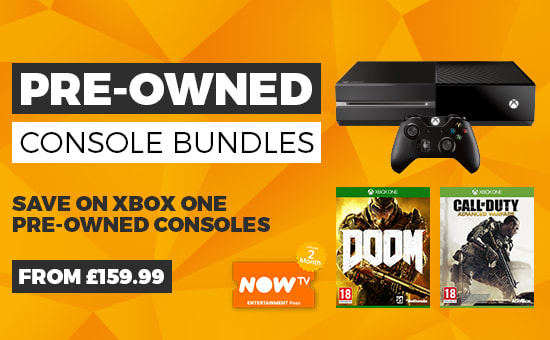 Pre owned Xbox Bundles at GAME.co.uk