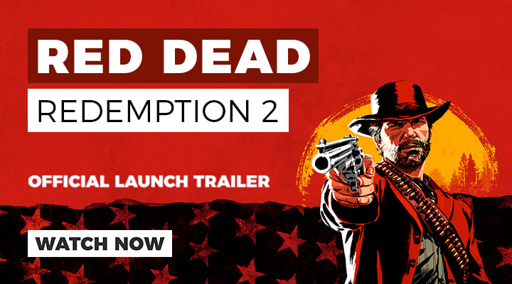 Red Dead Redemption 2 Launch Trailer