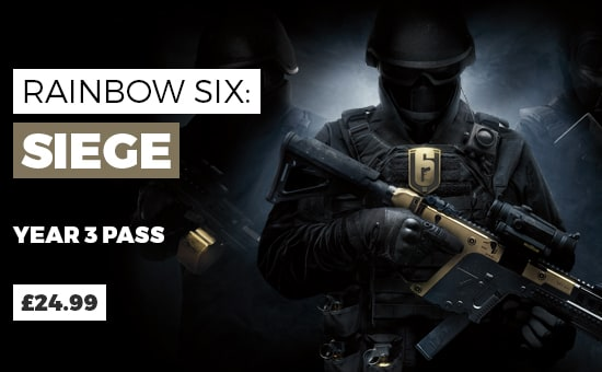 Rainbow Six Siege Year 3 Gold Edition - Buy Now at GAME.co.uk