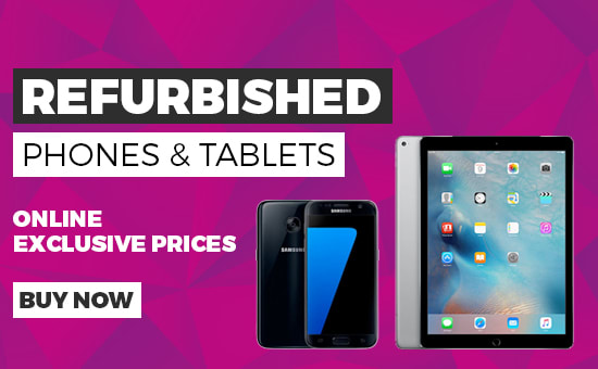 Refurbished Phones & Tablets - Buy Now at GAME.co.uk