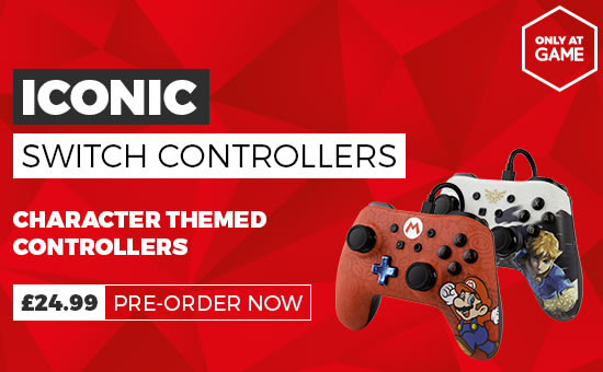 Iconic Switch Controllers From £24.99 - Pre-order Now at GAME.co.uk